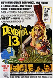 Dementia 13 (1963) - Review, Rating and Synopsis
