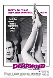 Deranged 1974 Horror movie Story, Rating, Review