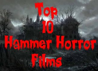 Hammer Horror Movies List