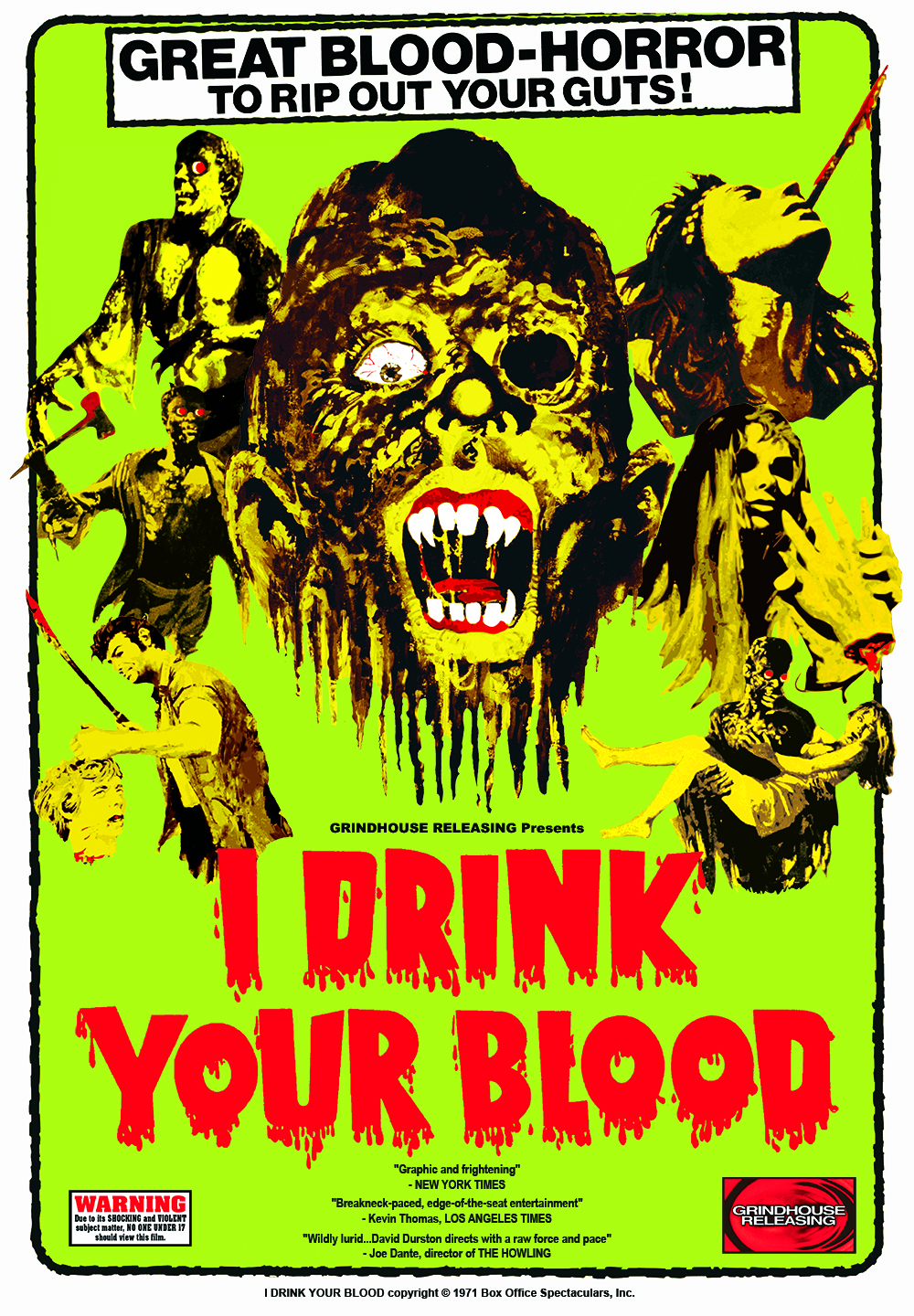 I Drink Your Blood Full Movie Story
