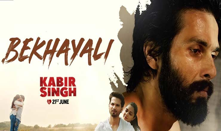 Bekhayali song Kabir singh movie