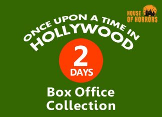 Once Upon a Time in Hollywood 2nd Day Box Office Collection