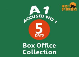A1 Accused No 1 5th Day Box Office Collection