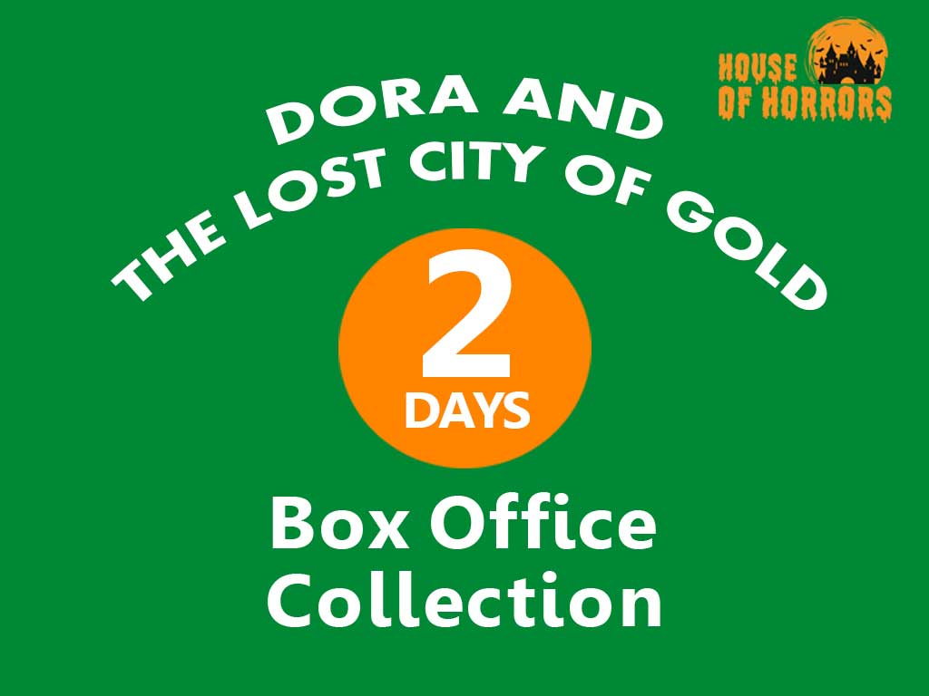 Dora and the Lost City of Gold 2nd Day Box office Collection