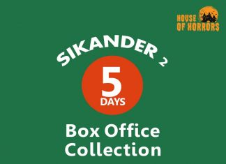 Sikander 2 5th Box Office collection