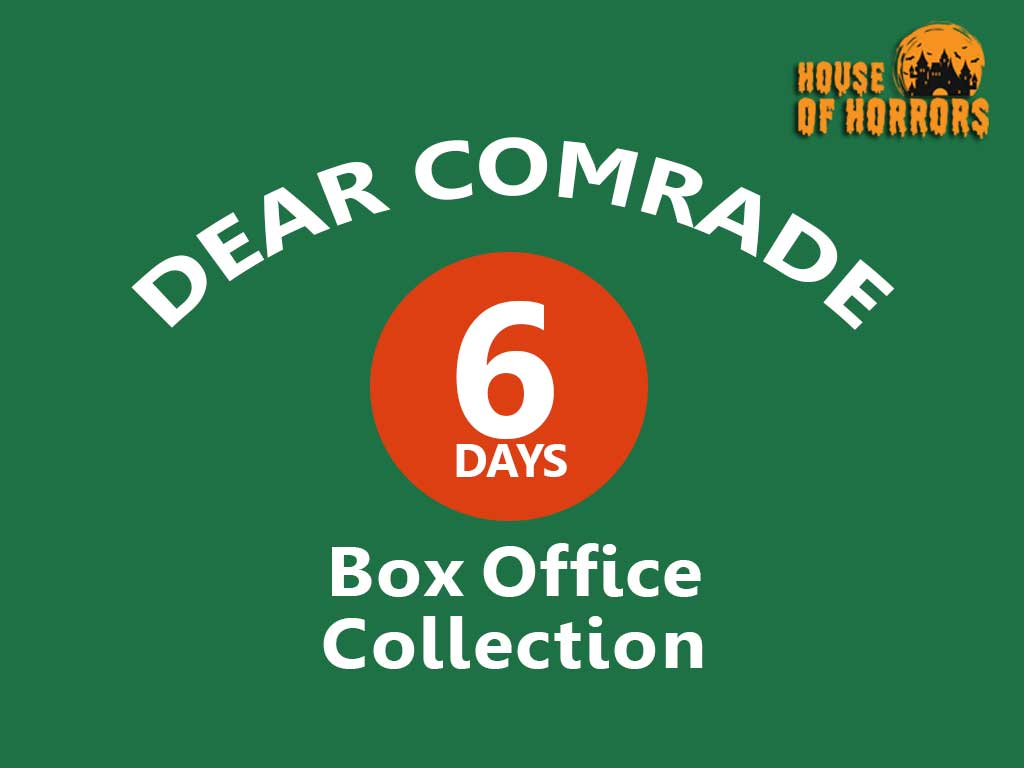 Dear Comrade 6th Day Box Office Collection