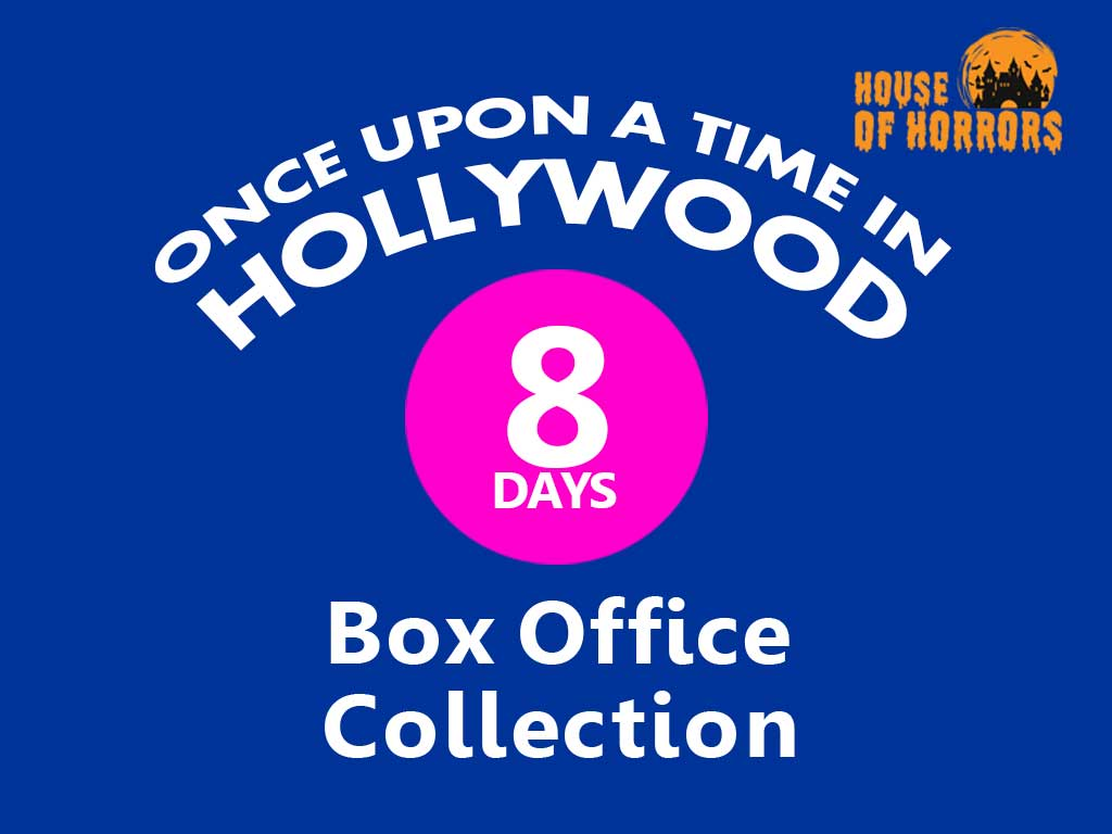 Once Upon a Time in Hollywood 8th Day Box Office Collection
