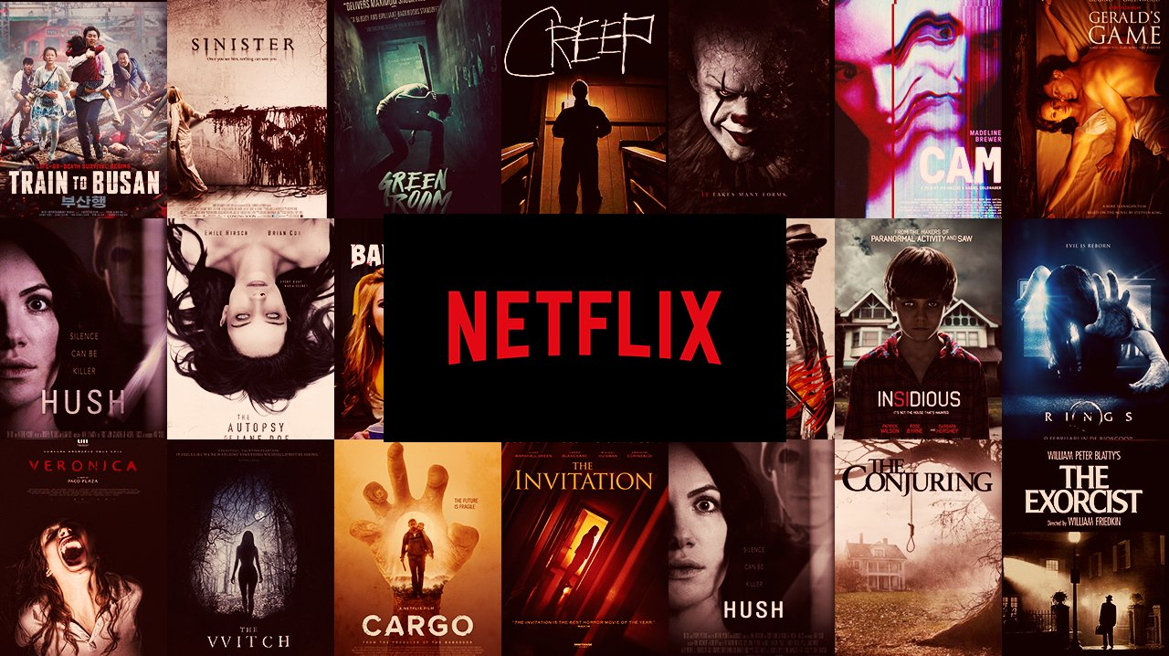 Top Horror Movies Streaming on Netflix